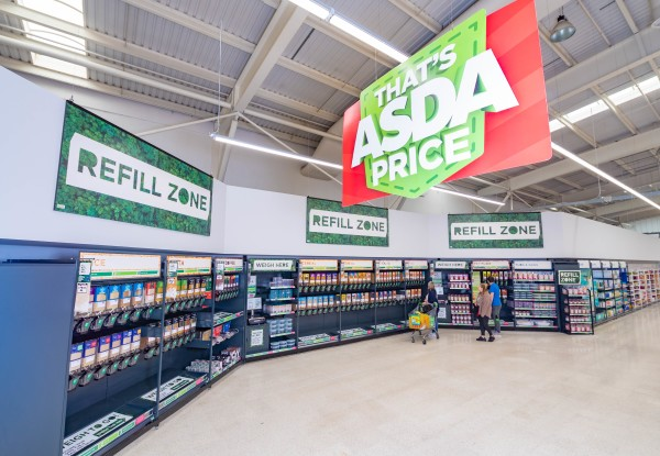 Asda York is the biggest refill store in the UK