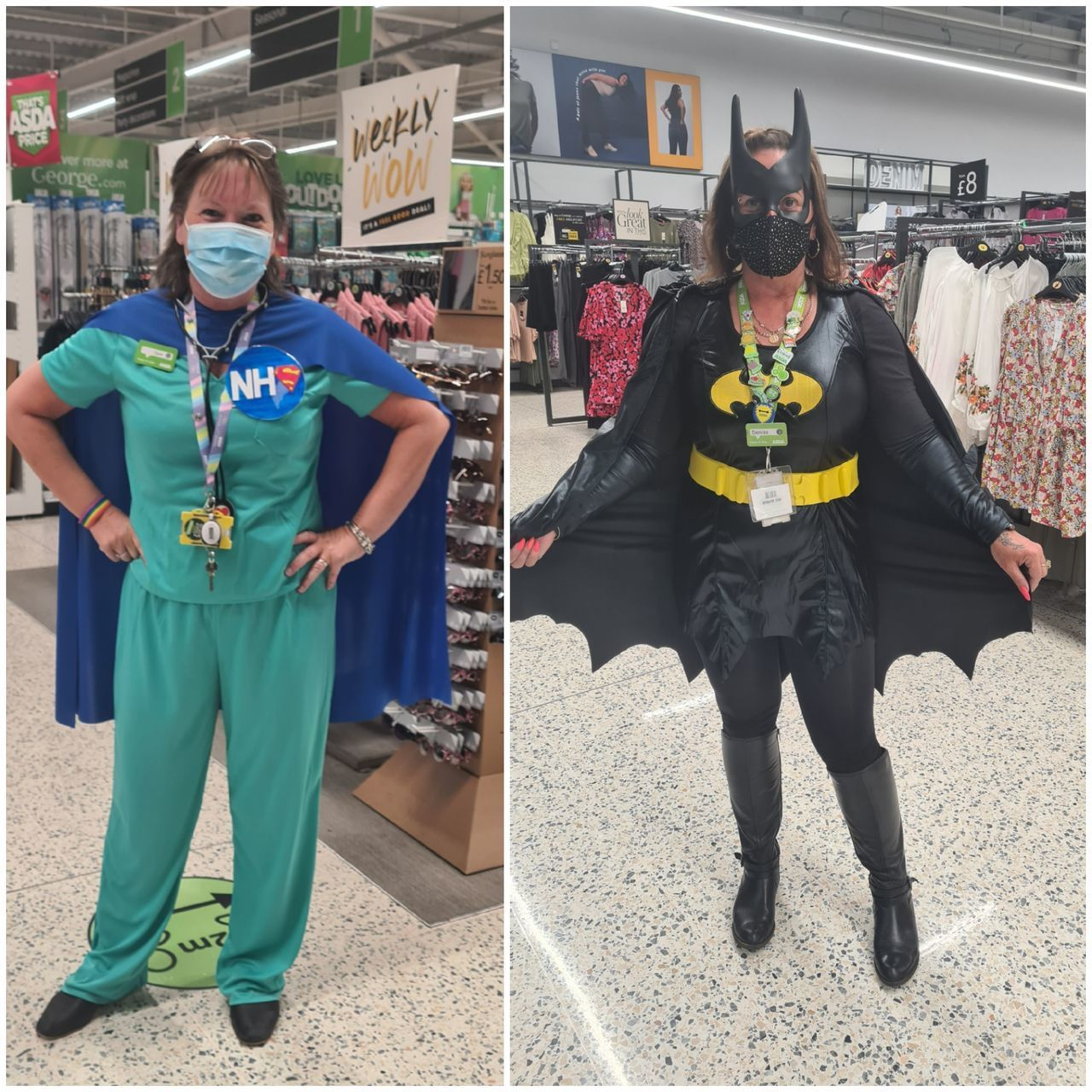 National Super Hero Day | Asda Newport Isle of Wight