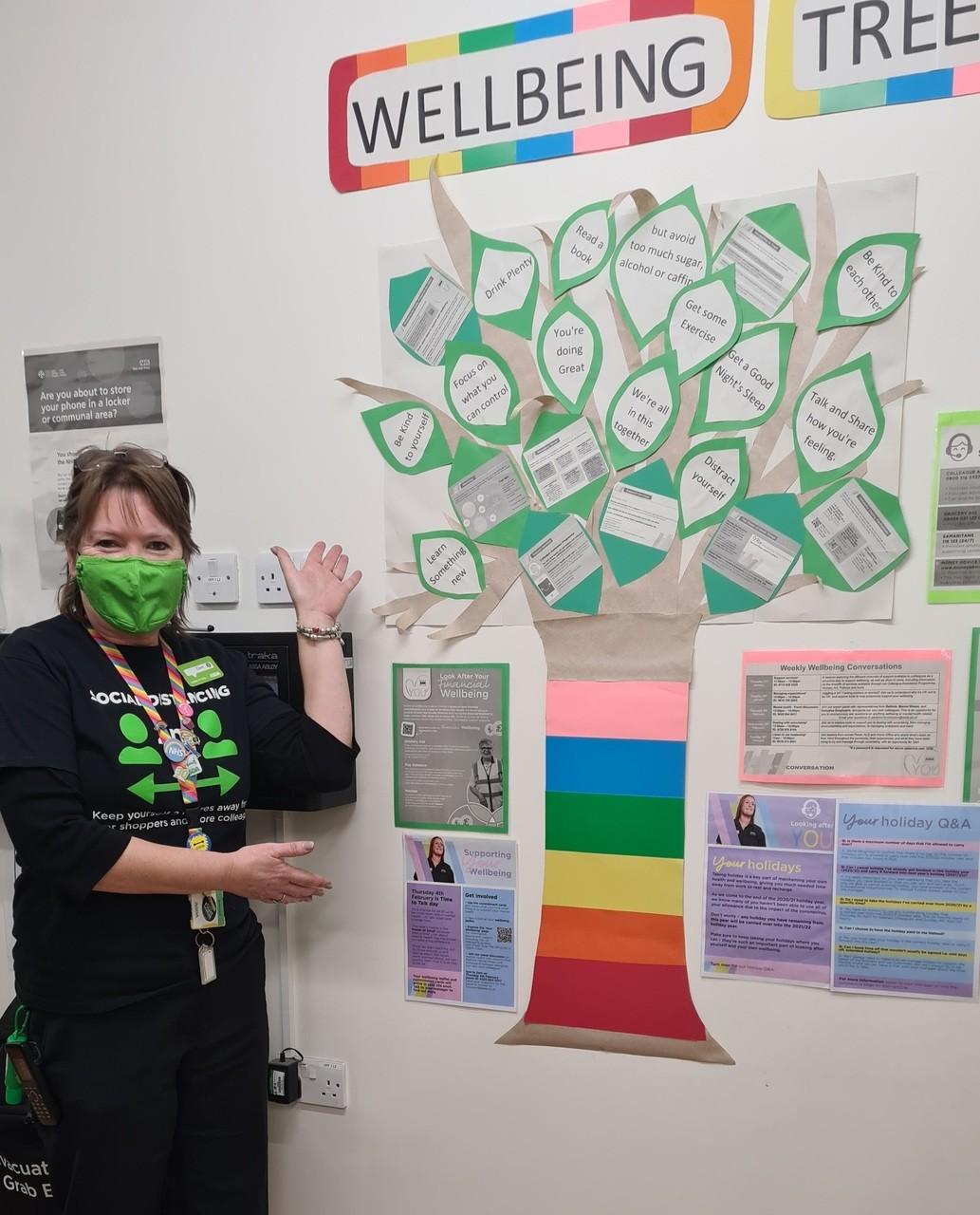 Wellbeing Tree | Asda Newport Isle of Wight