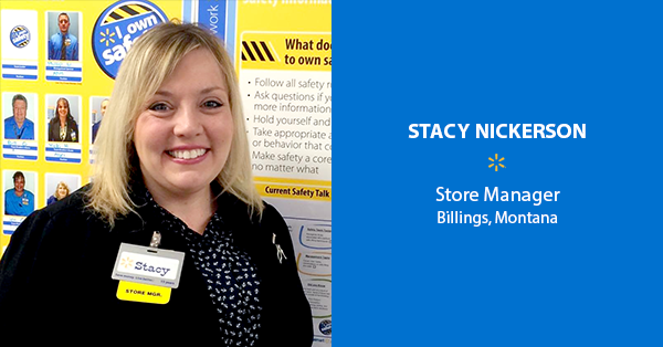 Stacy Nickerson, Store Manager – Billings, Montana