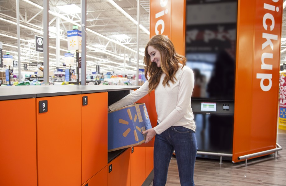 Pickup Lockers extend the convenience of Pickup to even larger items