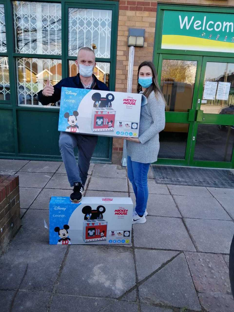 Surprise donation to local schools | Asda Reddish