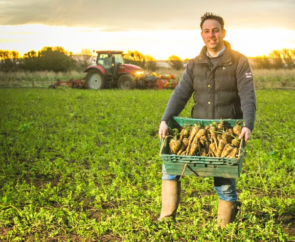 Asda parsnip grower Richard Clarke
