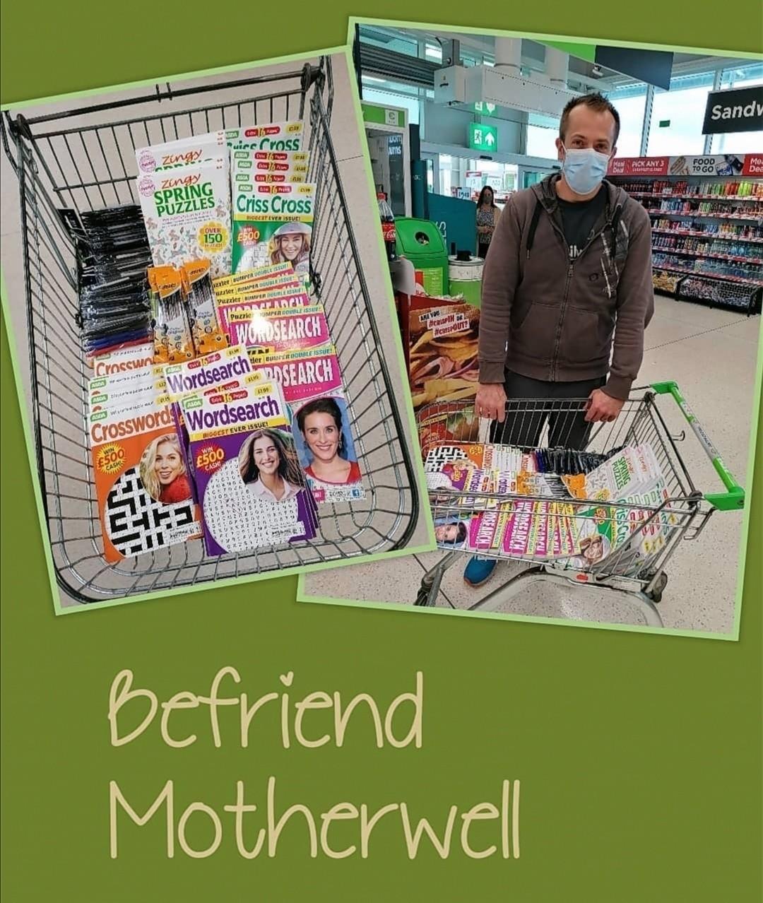 Befriend Motherwell Donation | Asda Motherwell