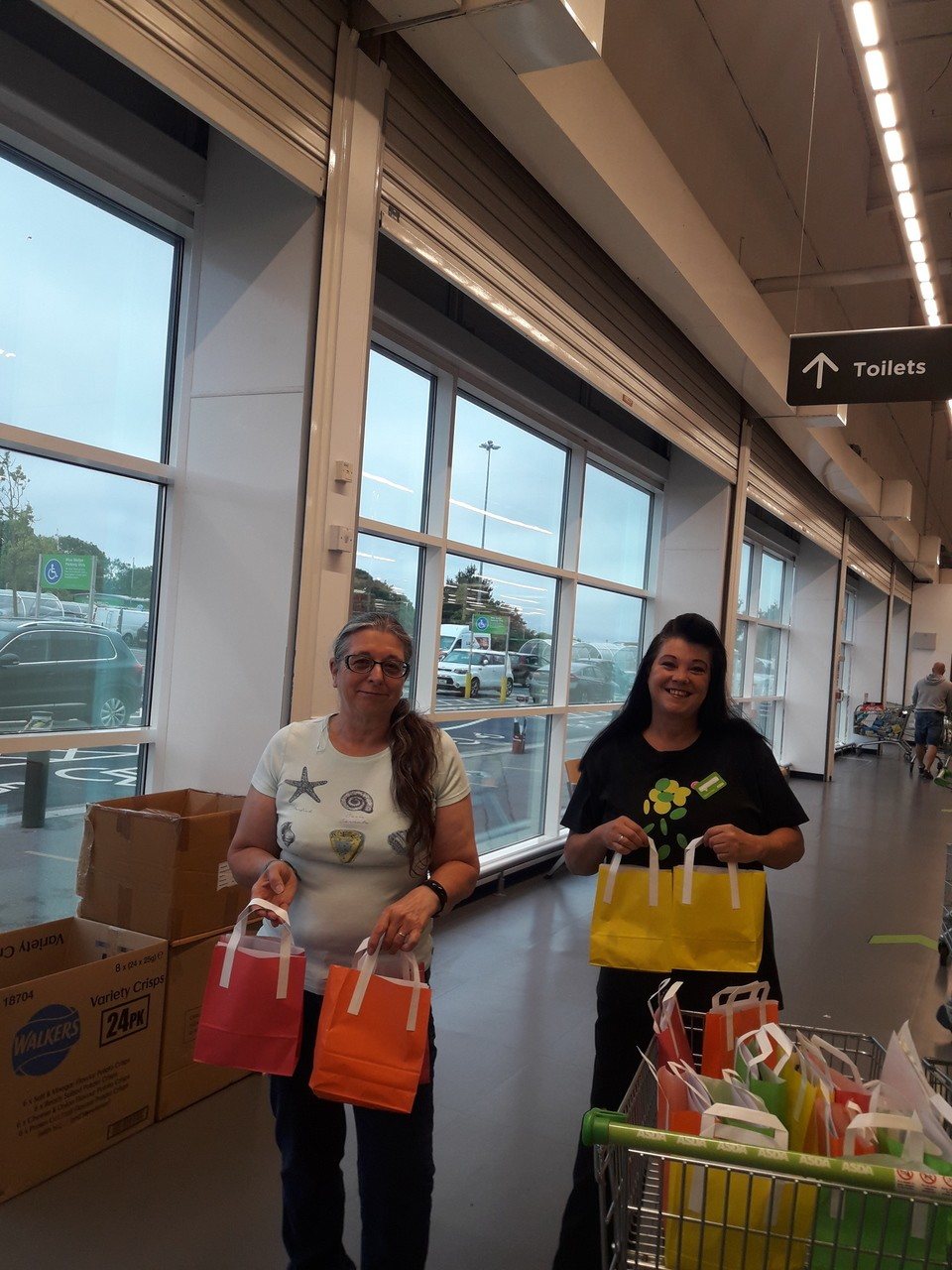 Goody bags for Rainbows | Asda Patchway