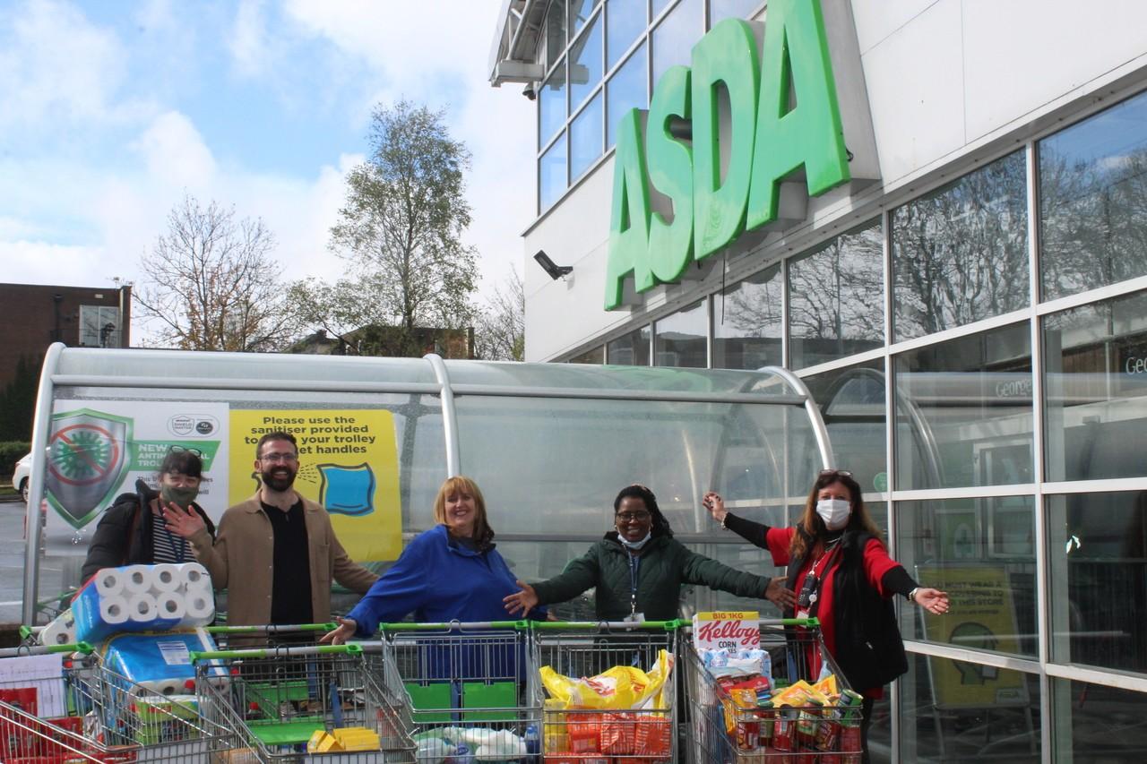 Grant to homelessness charity | Asda Bolton