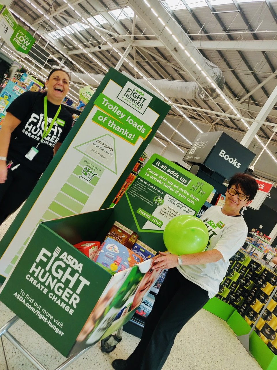 Supporting our Fight Hunger initiative | Asda Rugby