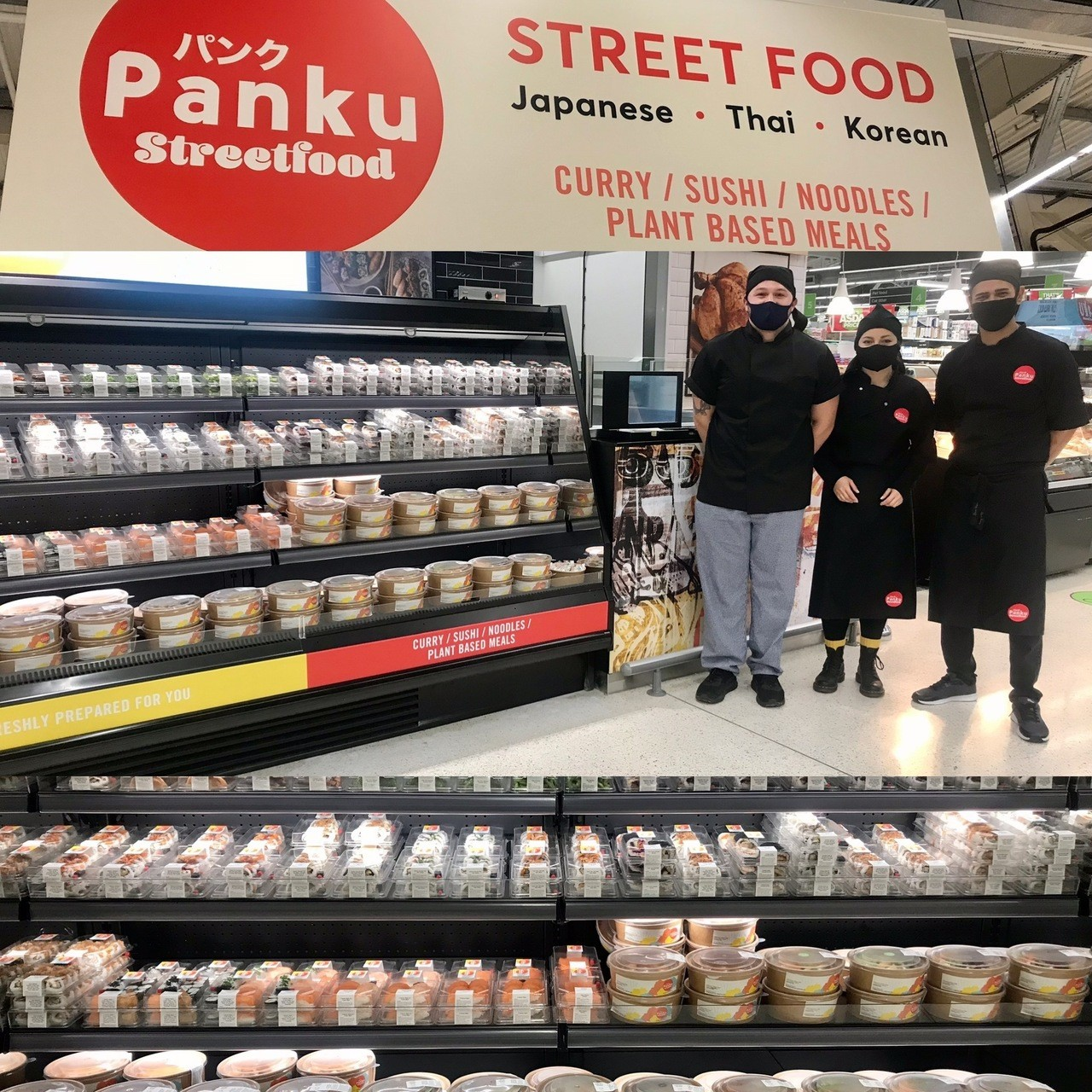 Panku opens for business   Asda Frome