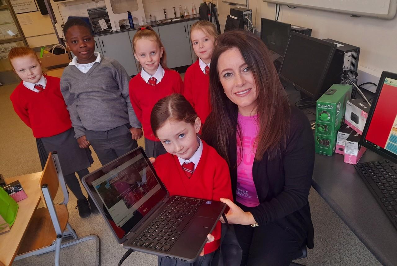 Laptop donation | Asda Belfast Westwood