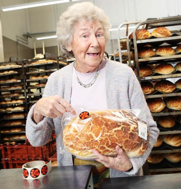 Audrey's Tiger Bread at Asda Barking