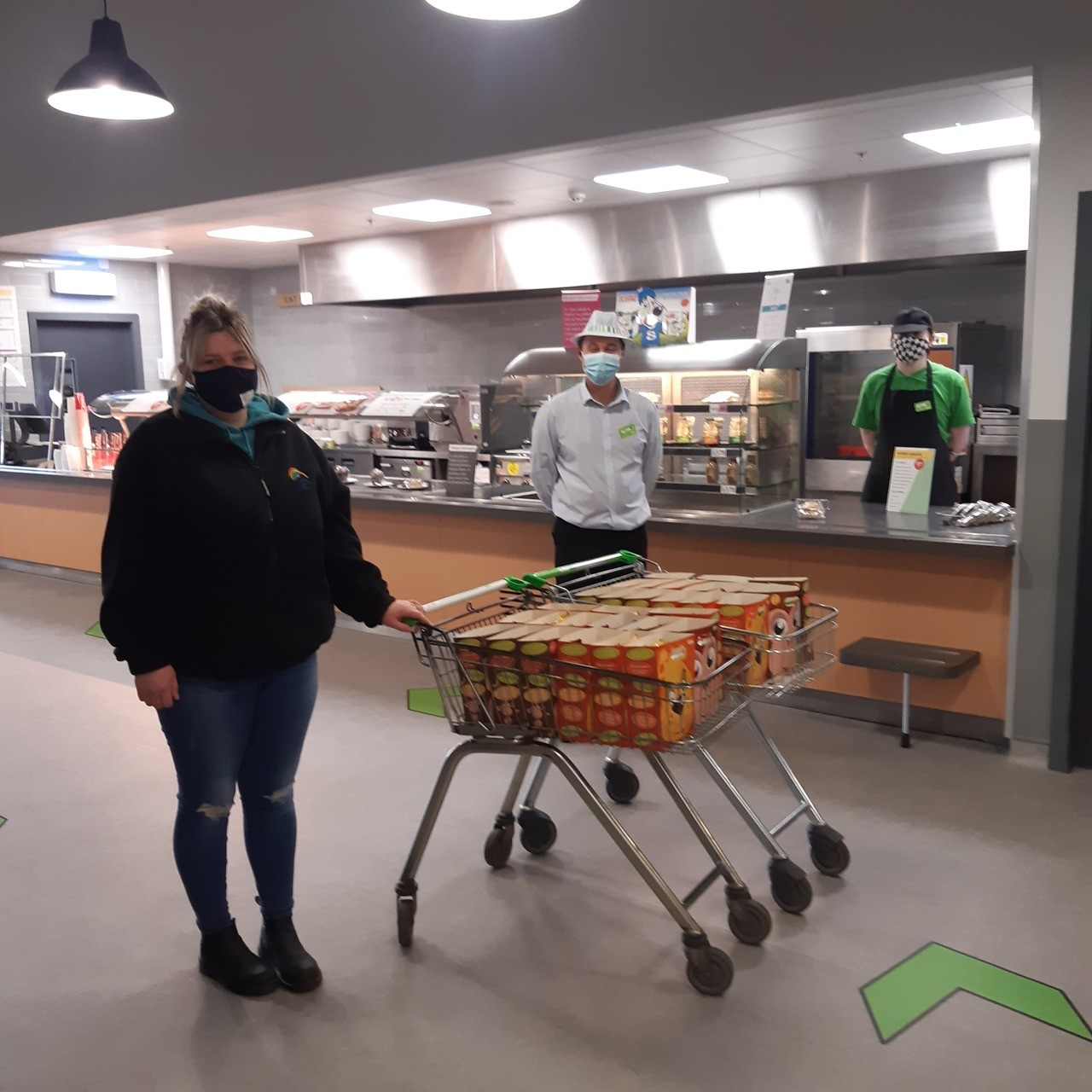 Asda Kitchen and Leslie Community Pantry | Asda Glenrothes