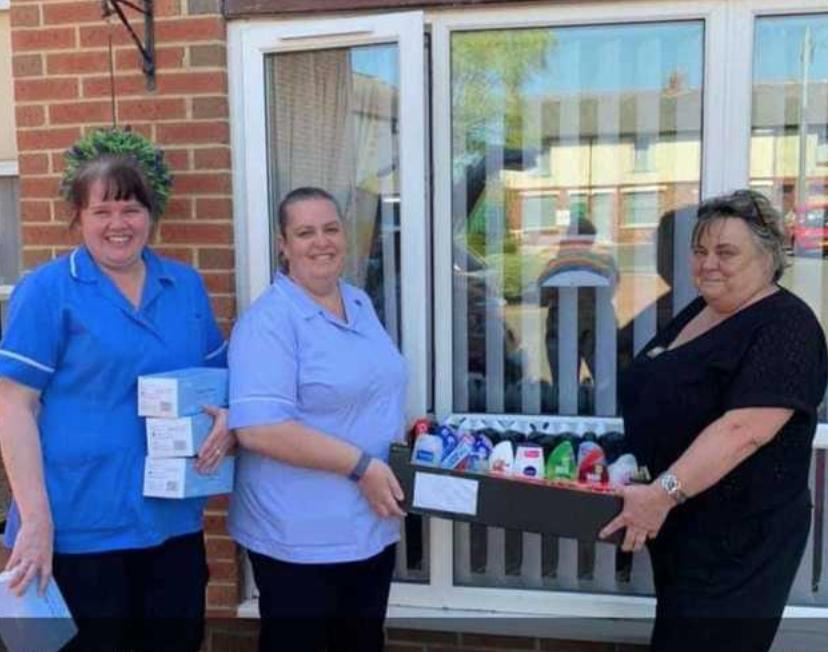 Chilton Care Home donation | Asda Spennymoor