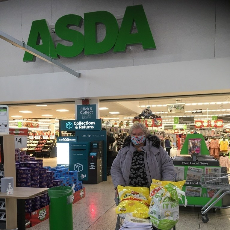 Helping the older people in our community with a donation to Encourage | Asda Dyce