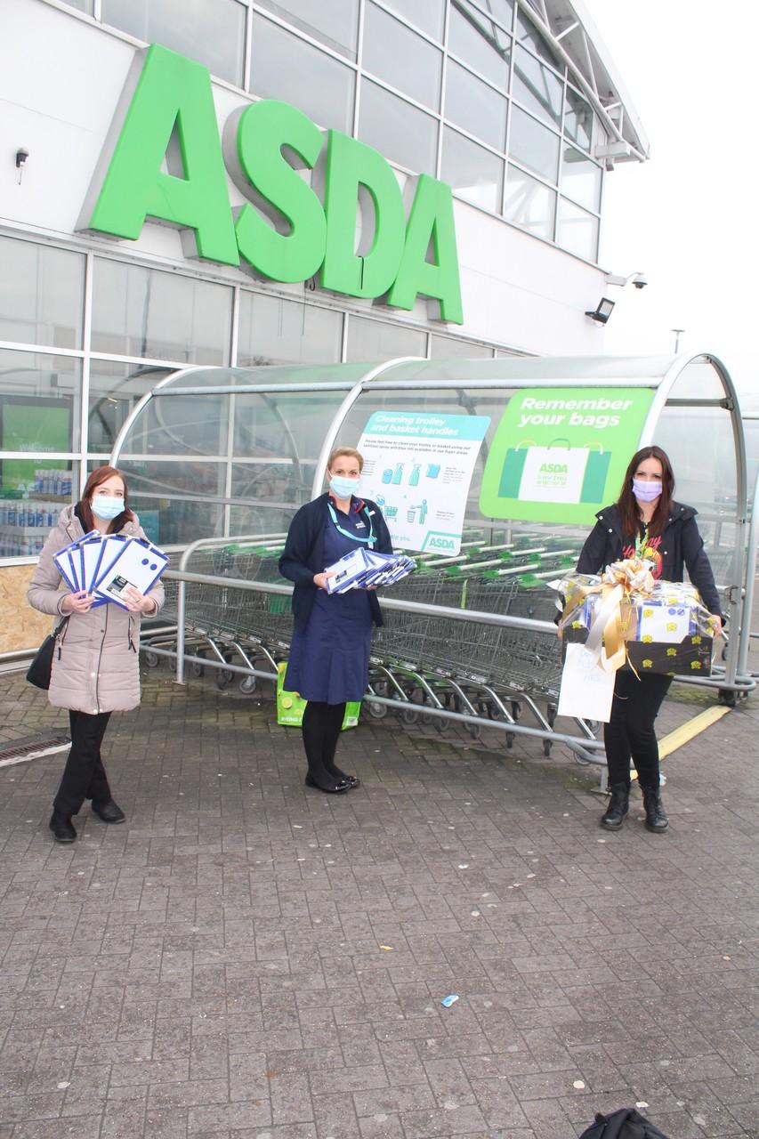 Bolton, Burnden Park and Farnworth store Memory board donation to the Royal Bolton Hospital. | Asda Bolton