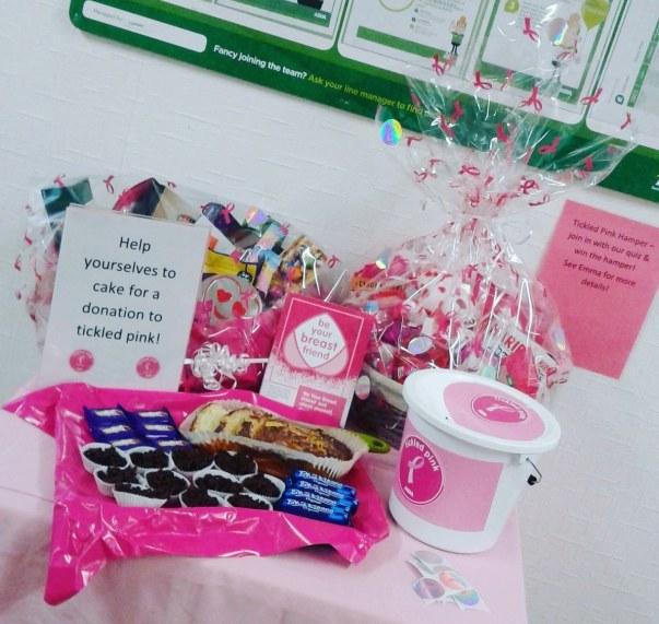 Tickled Pink at Asda Warrington