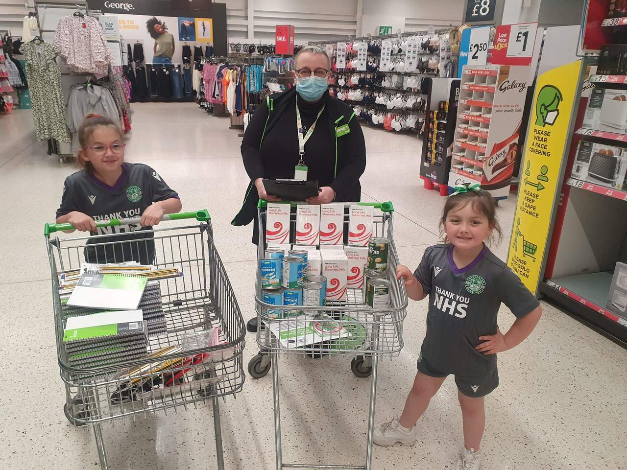 Supporting communities grant   Asda Leith