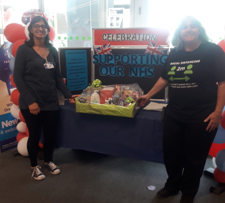 Goodie hampers for NHS  | Asda Leicester