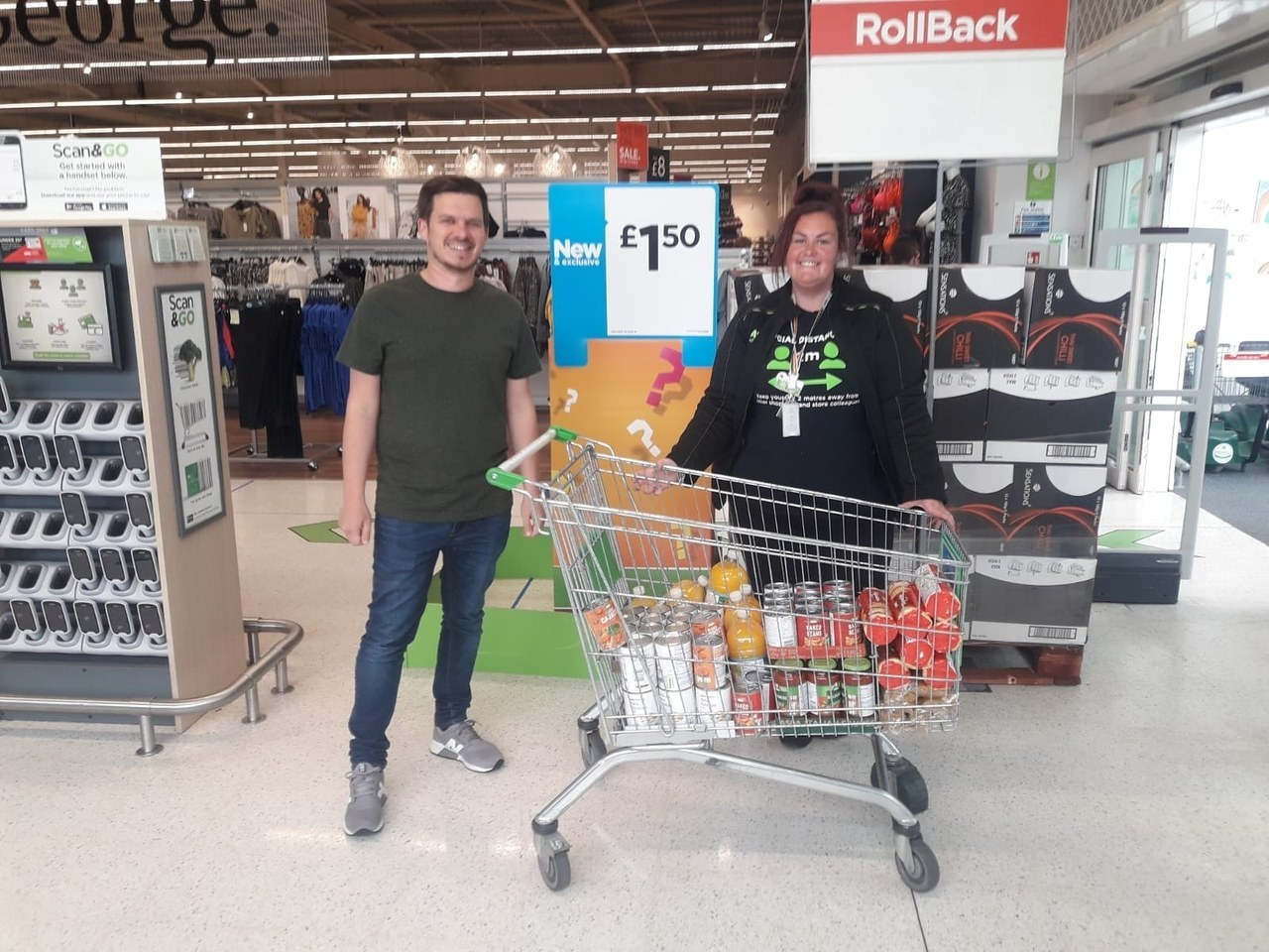 Local donations | Asda Widnes