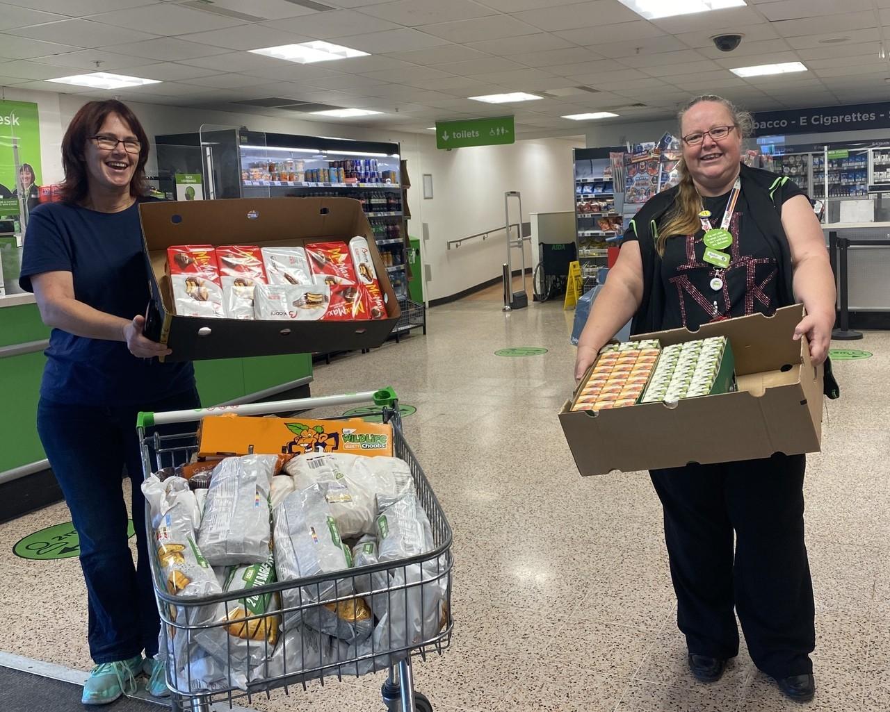 Donation to Gosport Trash Cafe | Asda Gosport