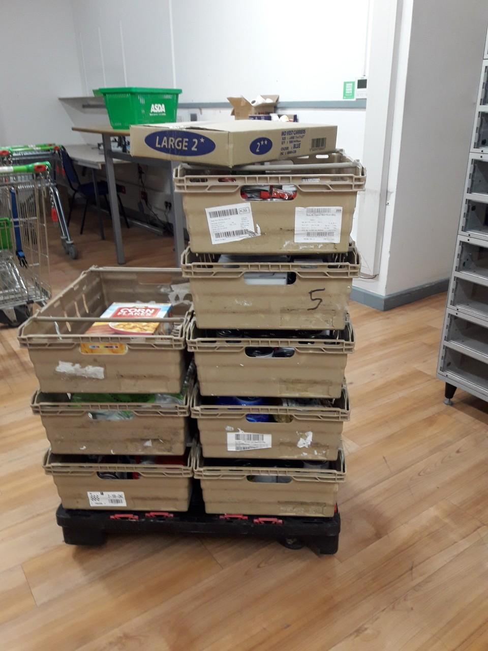 Newport Foodbank   Asda Newport