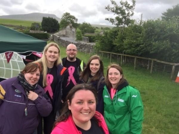 Naomi Francoisy Asda Three Peaks Tickled Pink fundraiser