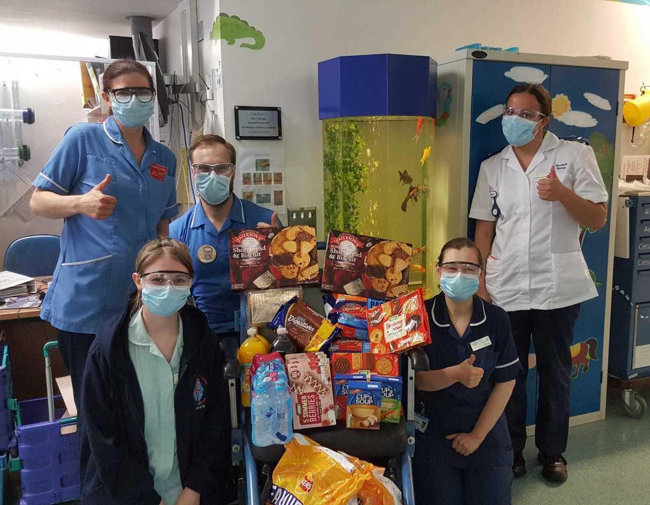 Nurses give thanks | Asda Morley