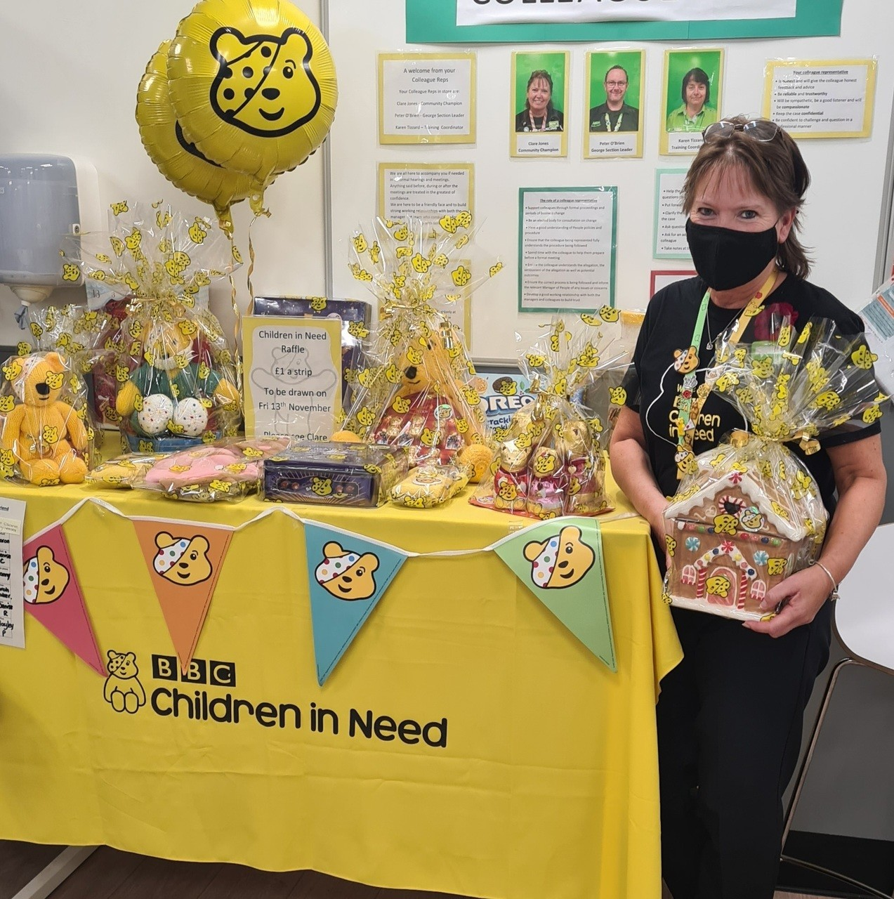 Pudsey raffle | Asda Newport Isle of Wight