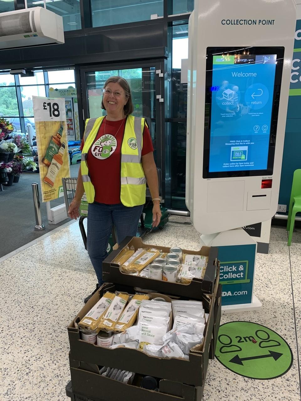 Donation to Clacton Food Cycle | Asda Clacton-on-Sea
