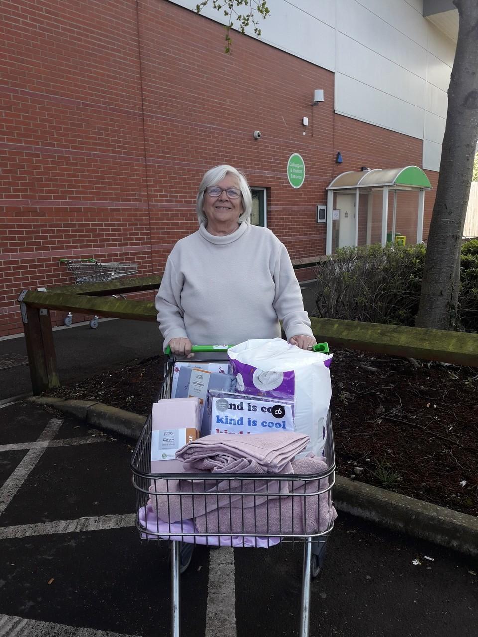 Home-Start Conwy donation | Asda Llandudno
