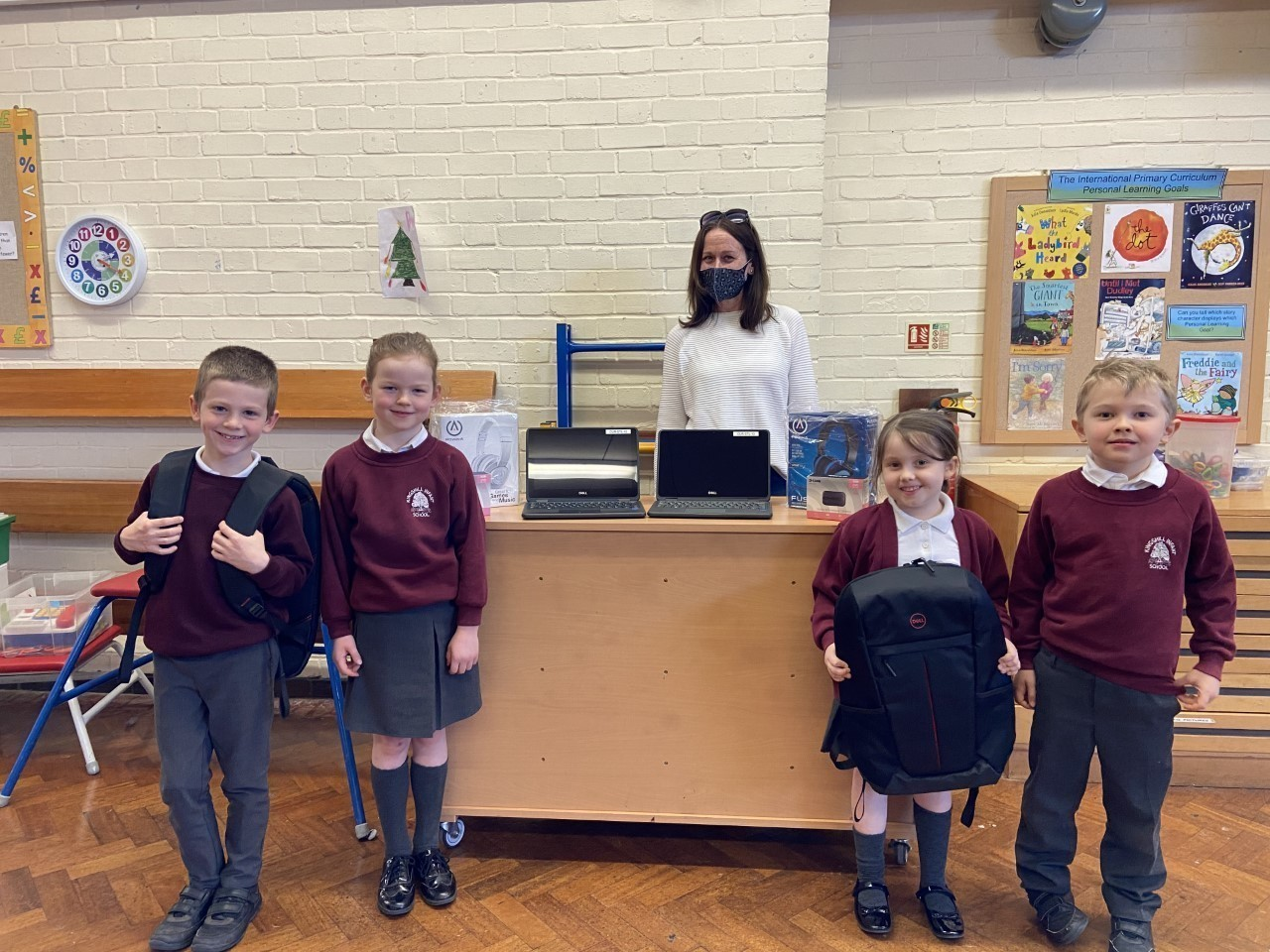 Laptop donation to Kingshill Infant School!  | Asda Ware