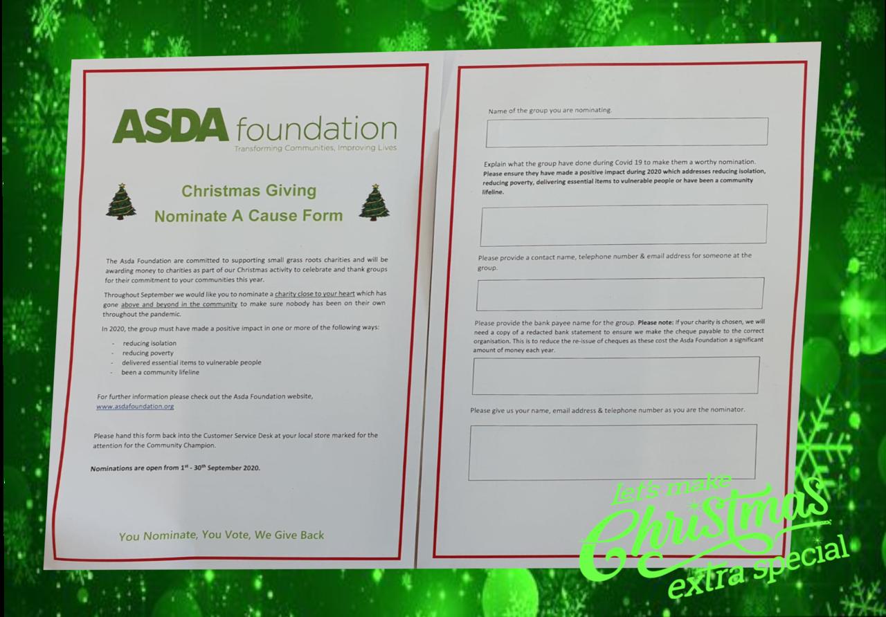 Christmas giving | Asda Plymouth