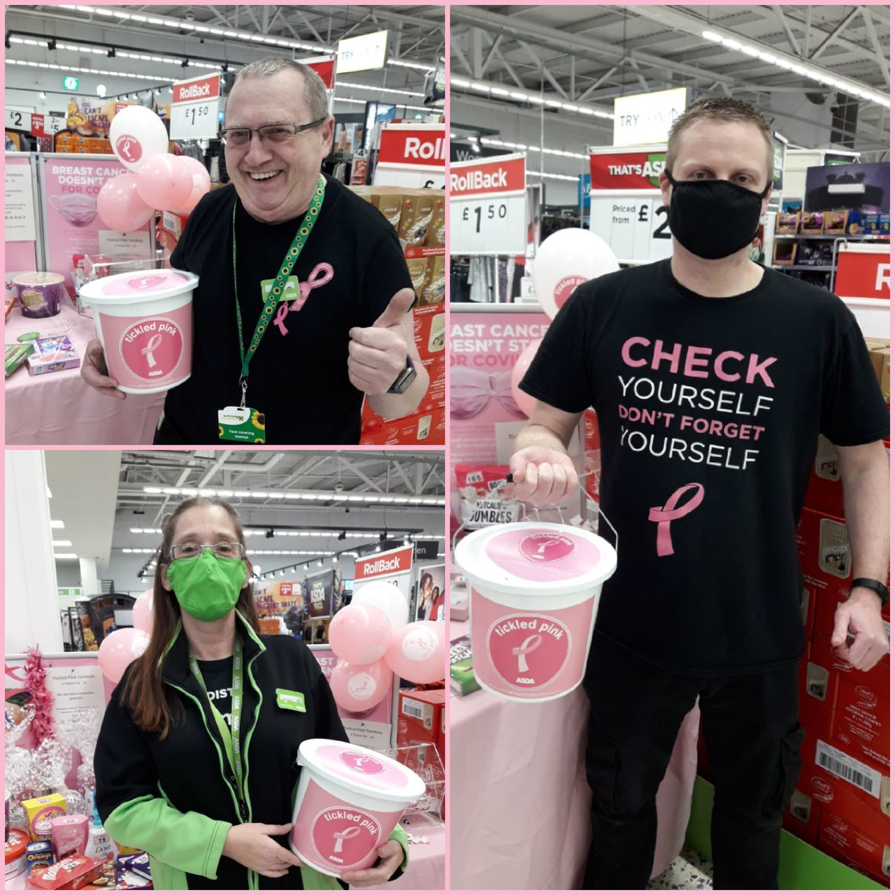 In the pink | Asda Gosforth