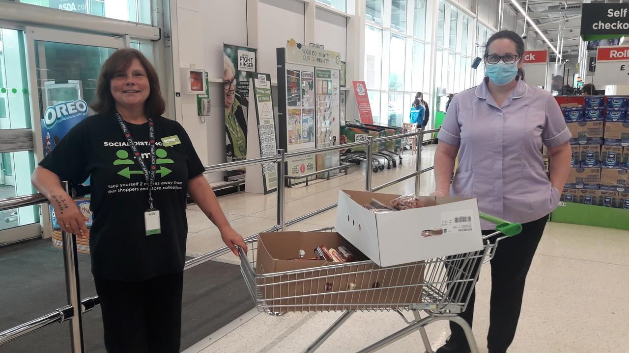 Care home donation | Asda Stockton