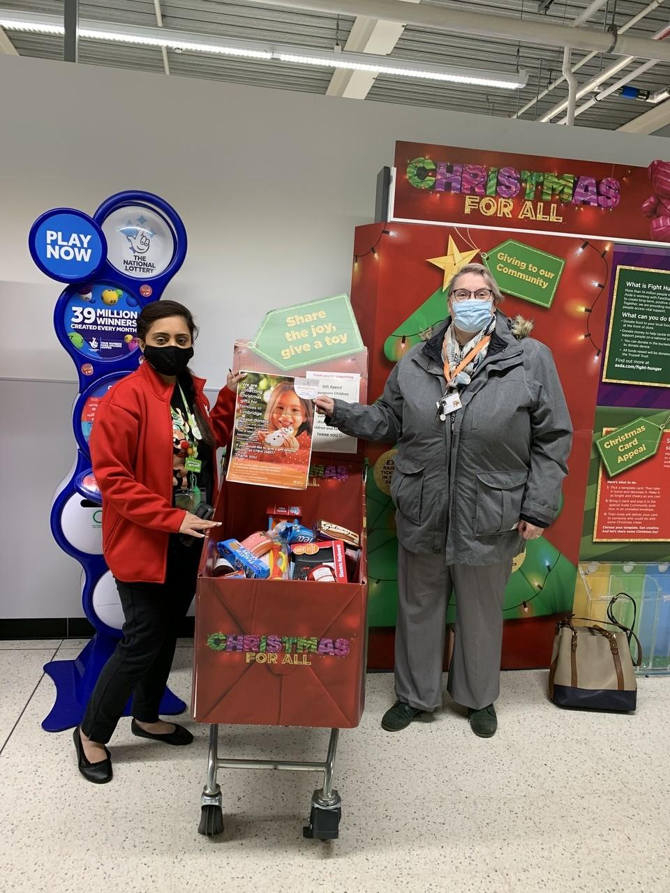 Gift Appeal support | Asda Feltham