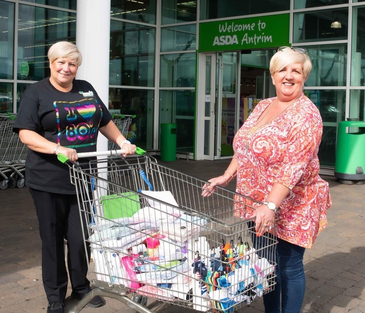 Clothing donation toWomen's Aid ABCLN | Asda Antrim