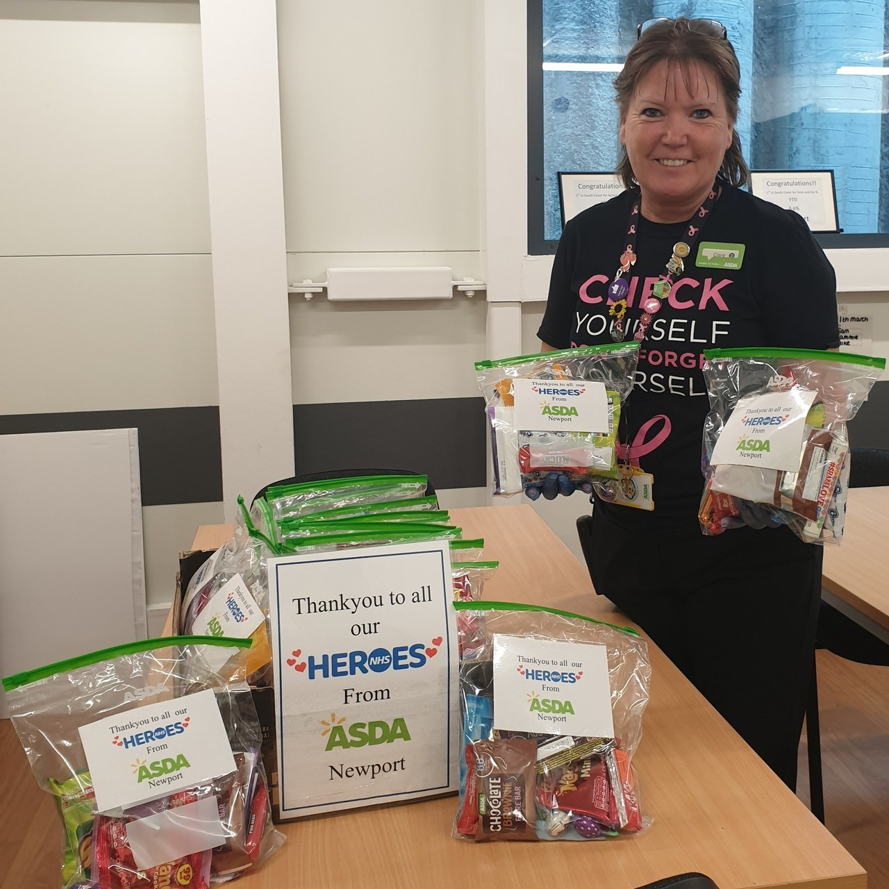 NHS donation | Asda Newport Isle of Wight