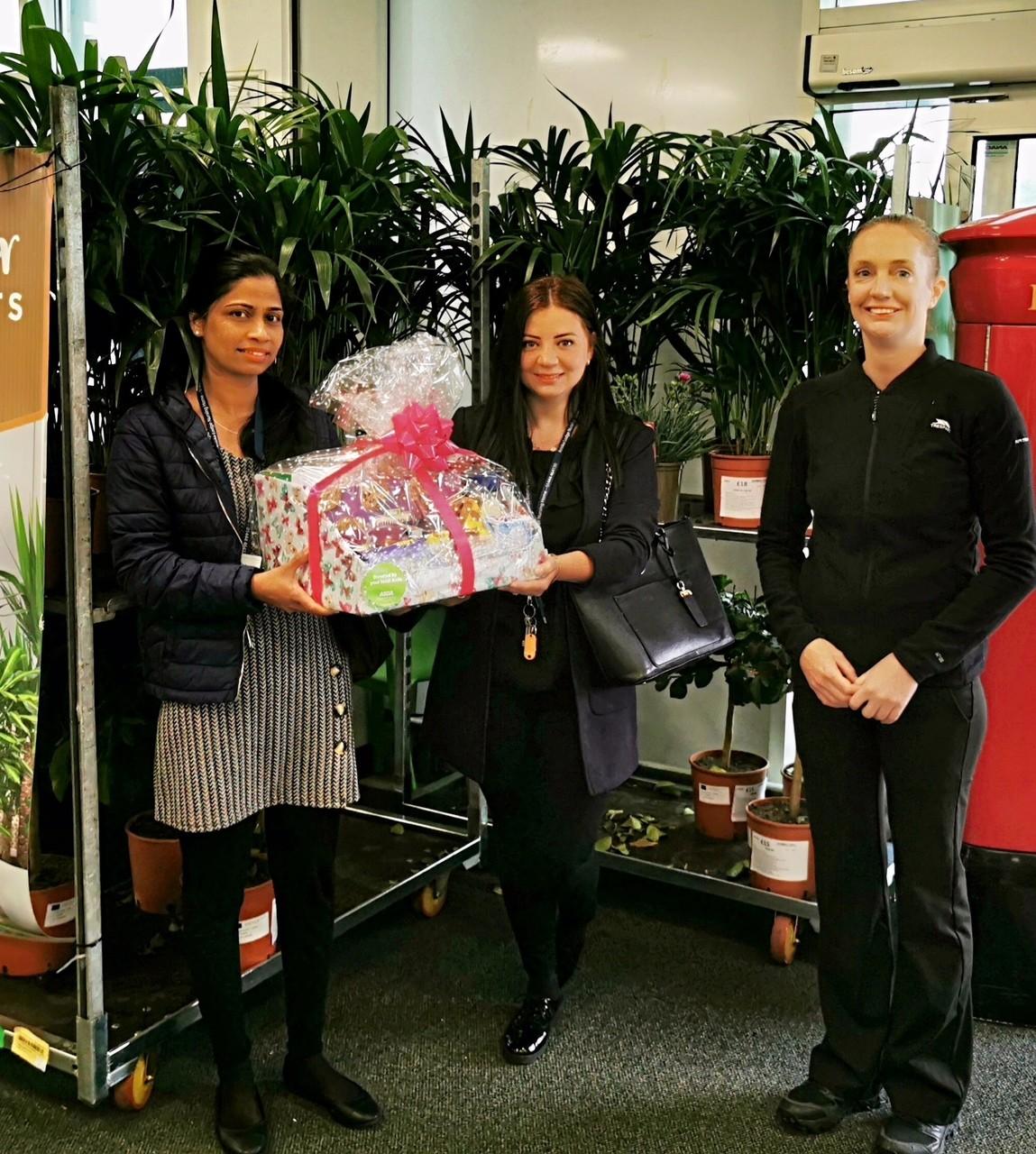 Care home donation | Asda Crawley