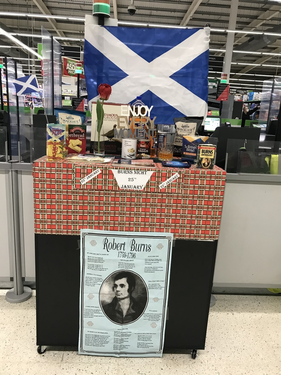 Getting in the spirit for Burns Night | Asda Ayr