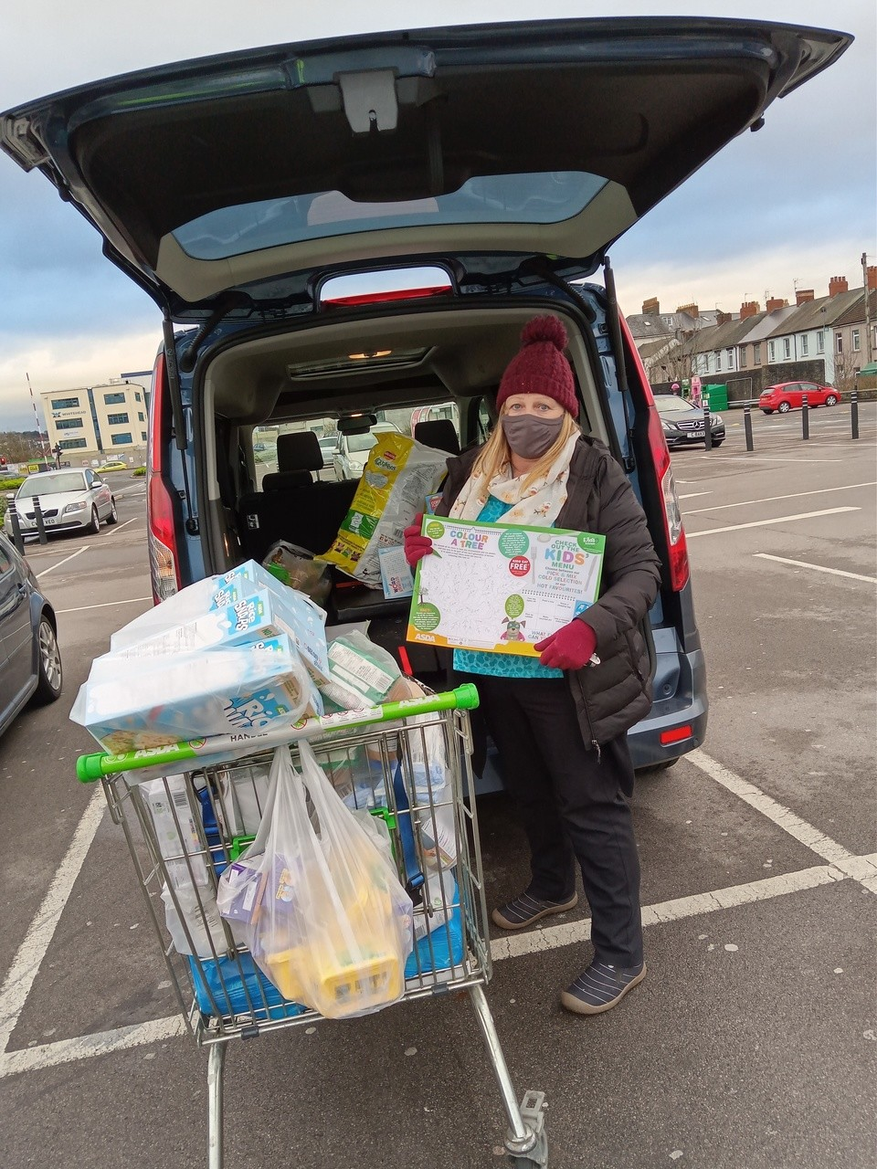 Lending a helping hand | Asda Newport Pillgwenlly