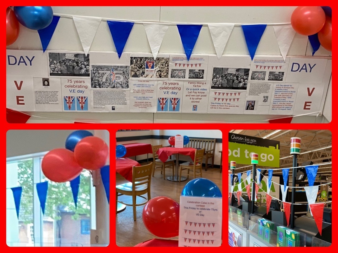 VE Day in Gloucester | Asda Gloucester