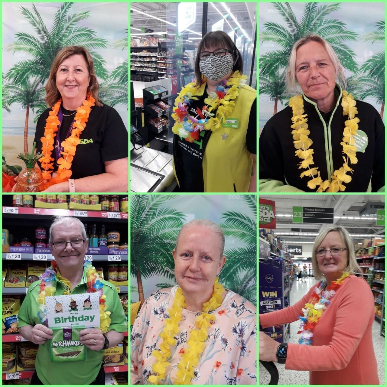 Colleagues enjoying bank holiday weekend | Asda Gosforth