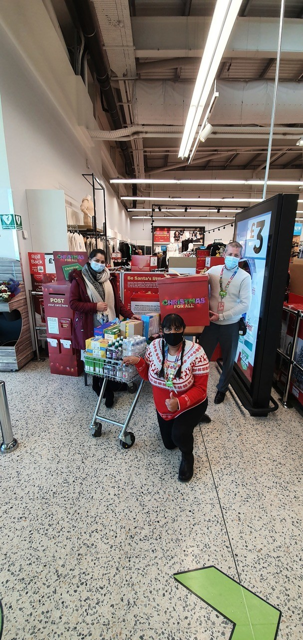 November Christmas Donations and Eat Them To Defeat Them activity | Asda Hayes
