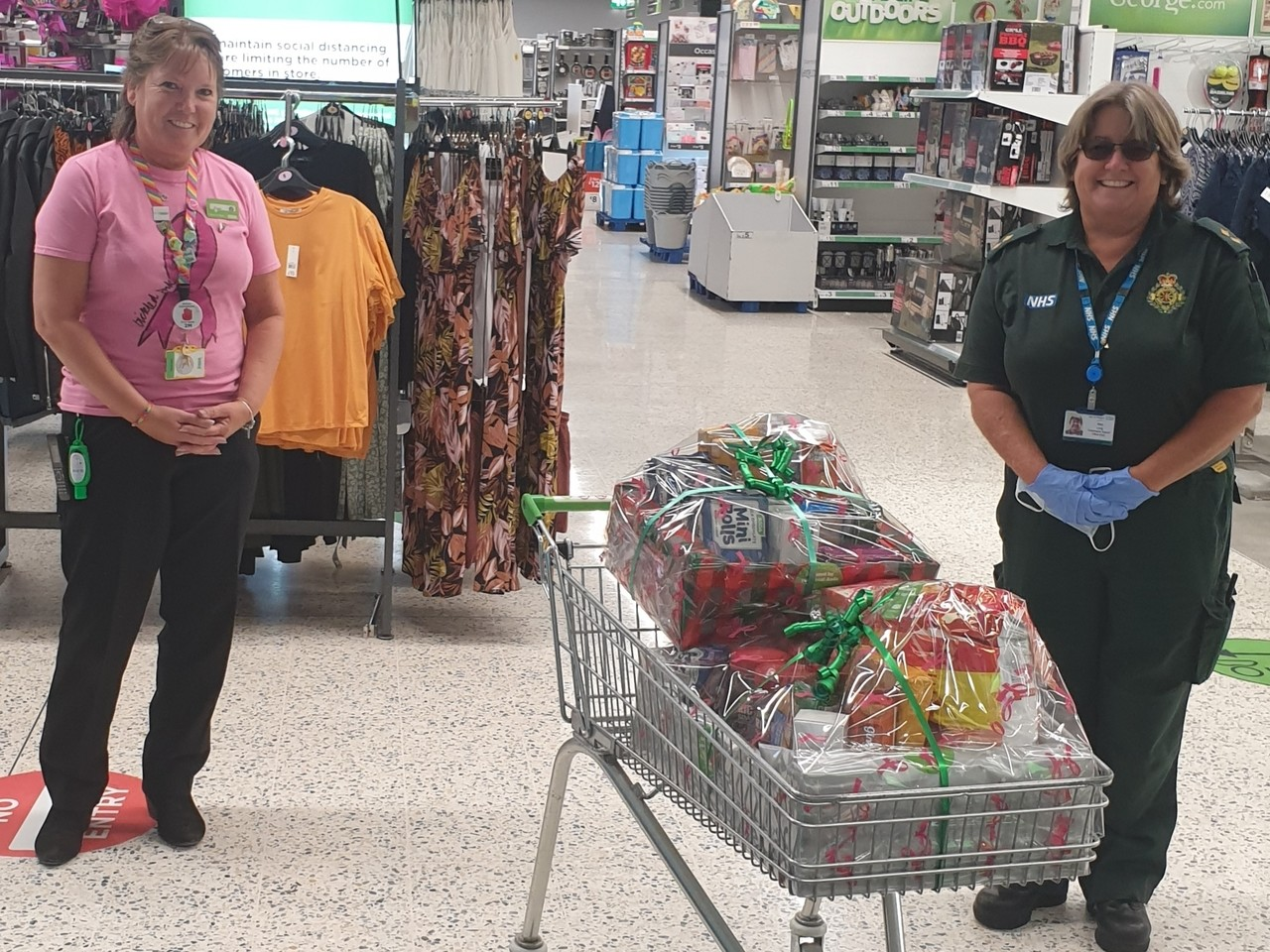 Supporting our ambulance heroes | Asda Newport Isle of Wight