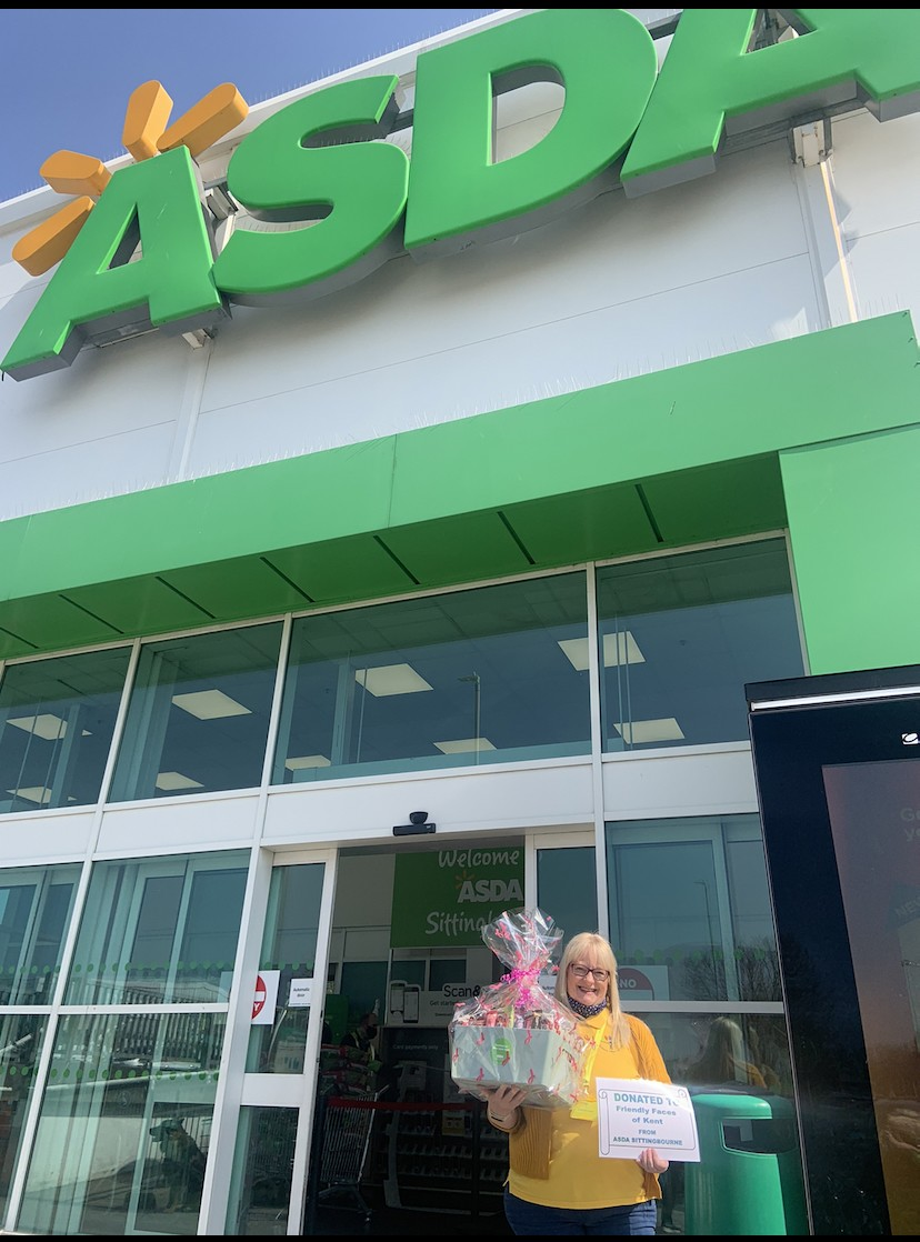 Healthy Donation to Friendly Faces Of Kent | Asda Sittingbourne