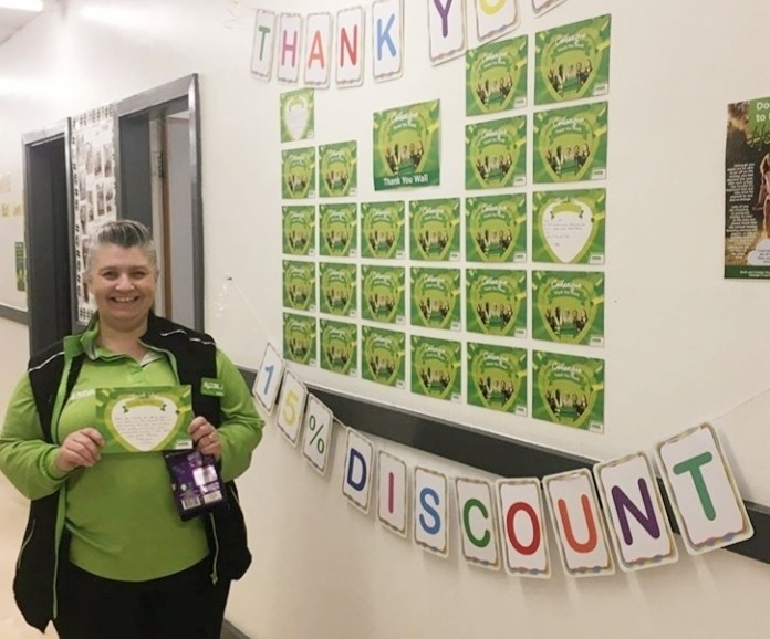 Thank you Tracey | Asda Gosforth