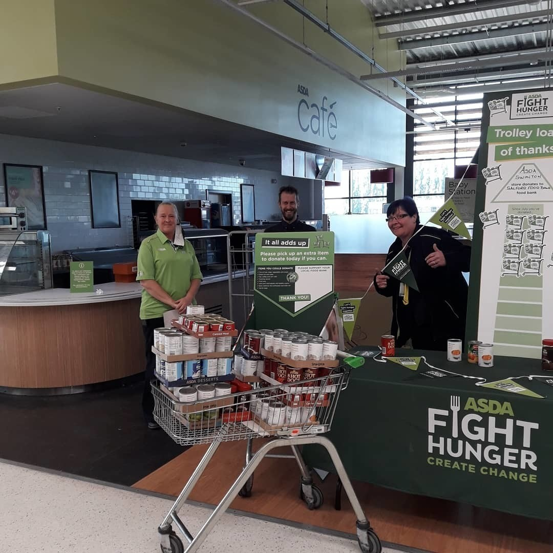 Helping Salford Food Bank | Asda Swinton