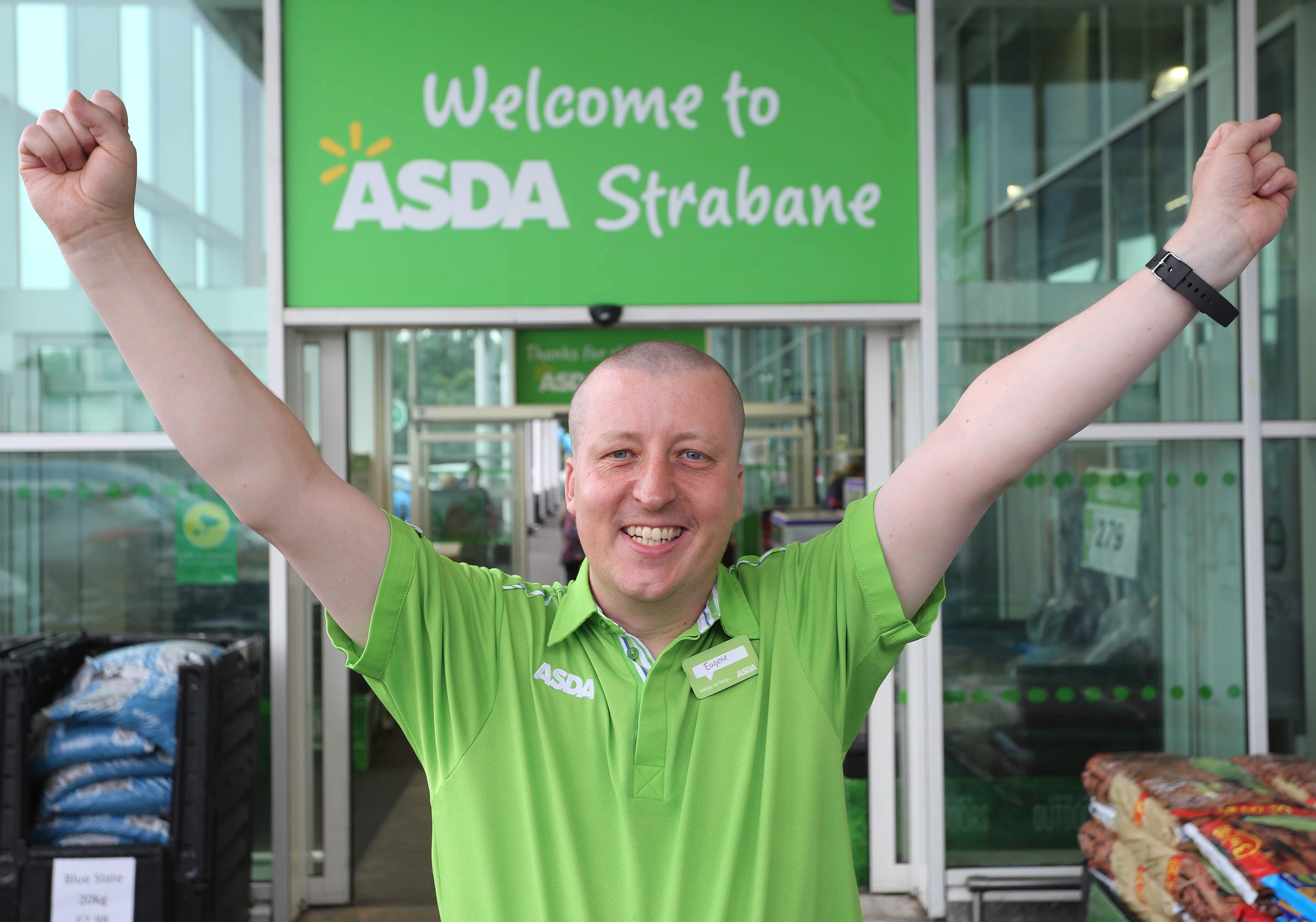 Asda Strabane colleague Eugene McGeever is heading to the Special Olympics