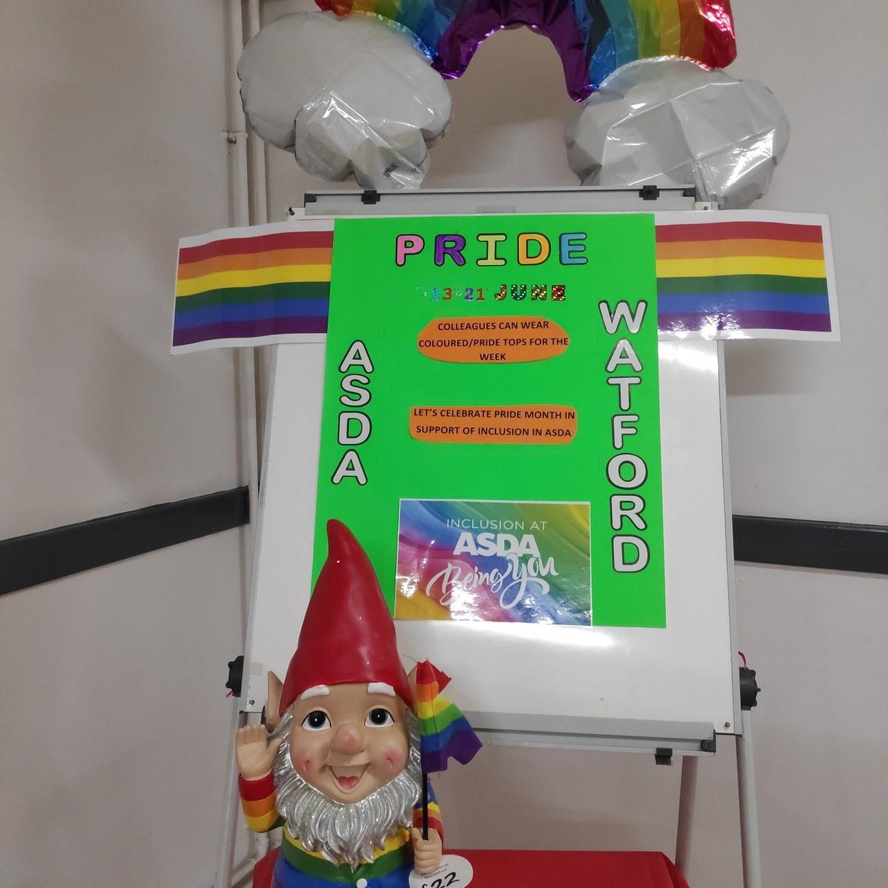 Asda Watford supports Pride | Asda Watford