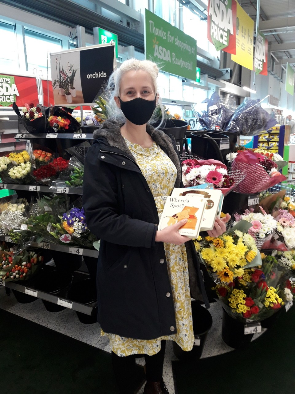 Knitting Smiles Across East Lancashire | Asda Rawtenstall