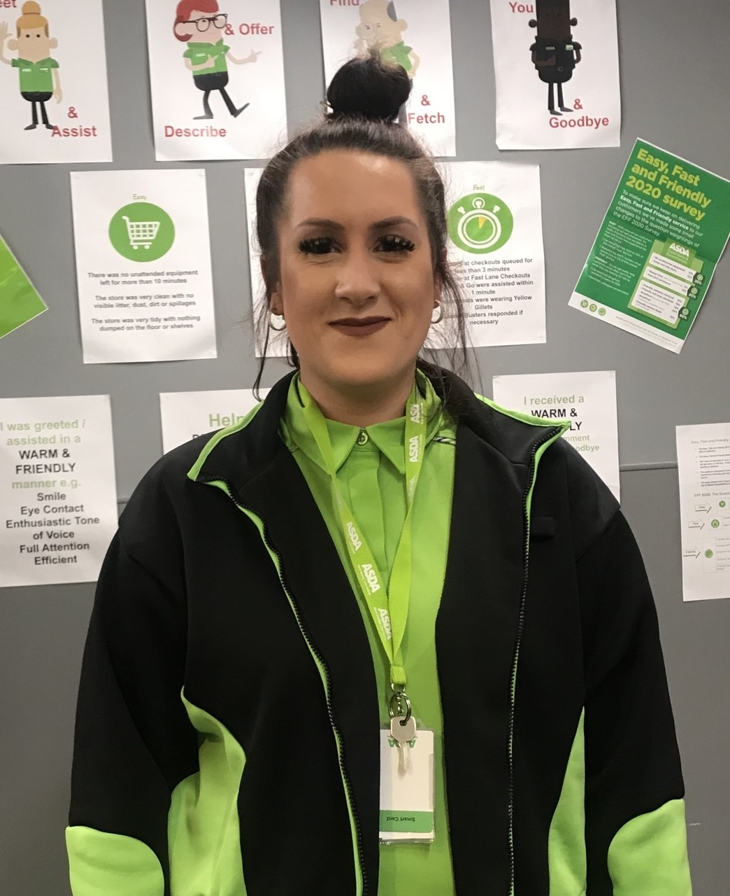 Kaybie is an Asda Frome family hero | Asda Frome